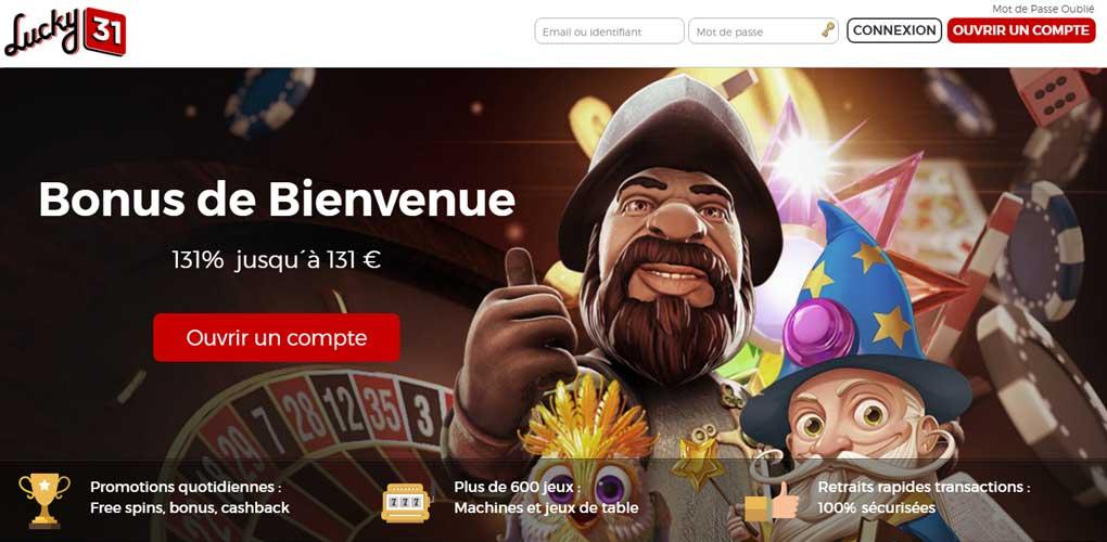 Casino lucky31